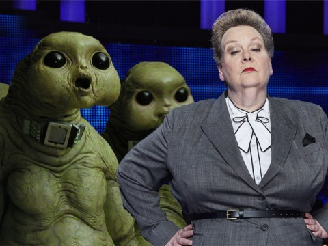 I'm a Celeb's Anne Hegerty wants to be a slitheen on Doctor Who with her other Chase stars