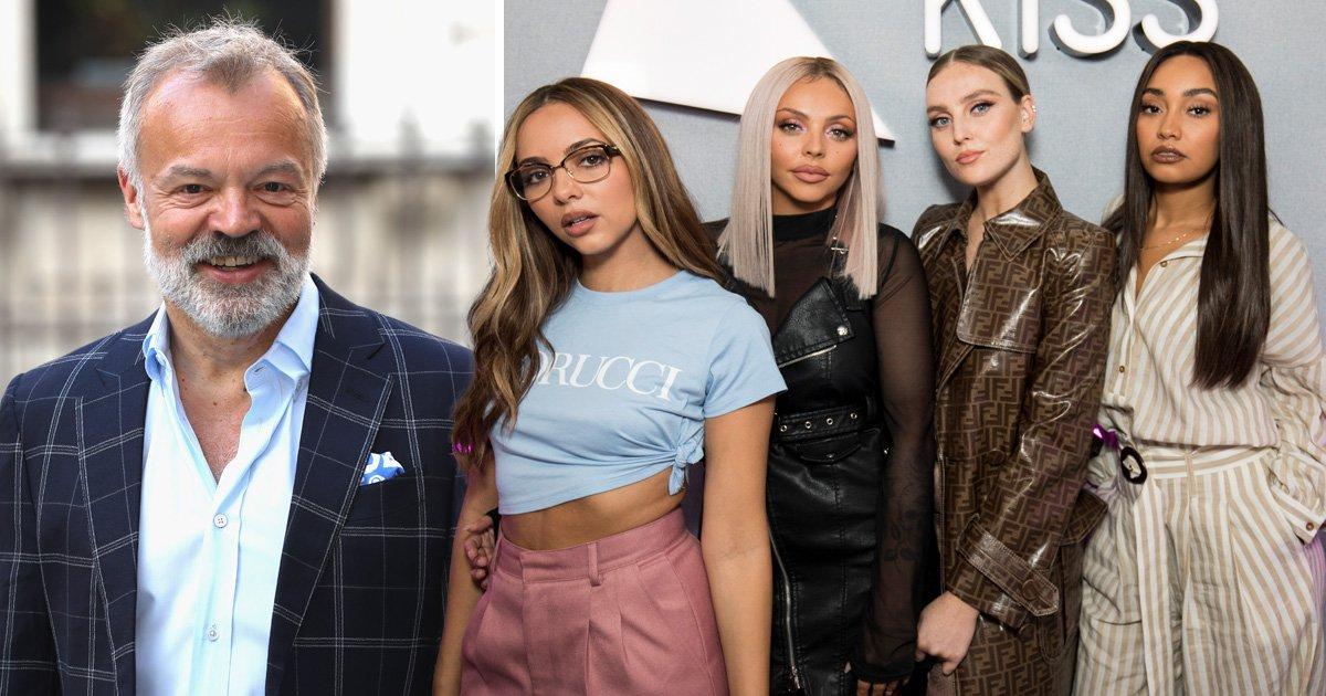 Graham Norton makes epic Little Mix slip up and fans aren't having it
