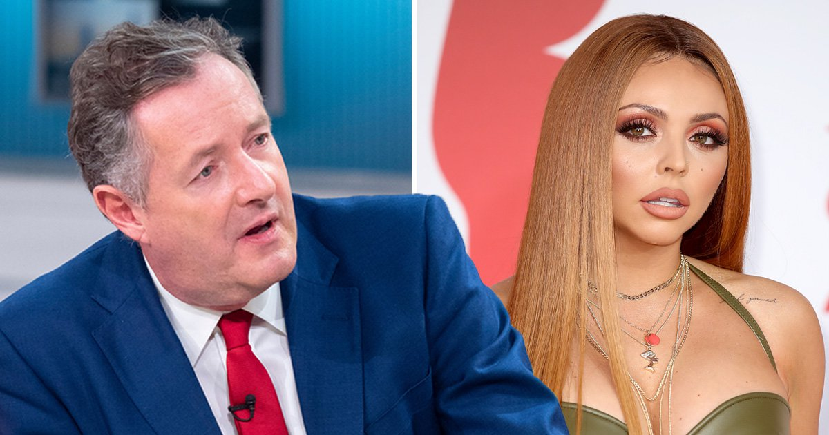 Piers Morgan demands 'gobby' Jesy Nelson publicly apologise as Little Mix singer labels host a 't**t'