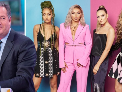 Piers Morgan claims Little Mix stole naked videoshoot idea from The Dixie Chicks