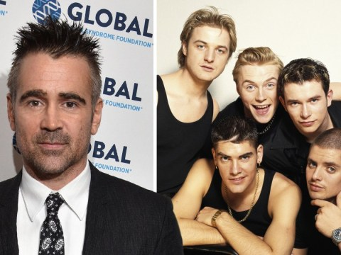 Mikey Graham claims Colin Farrell was 'broken-hearted' after narrowly missing out on Boyzone spot