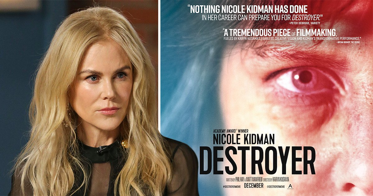 Nicole Kidman forced to flee The Destroyer set after shooter goes on the run in Los Angeles