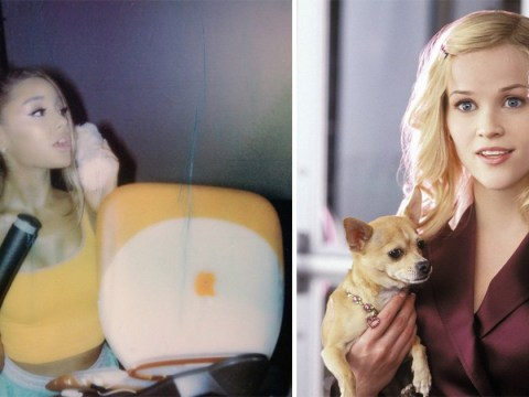 Reese Witherspoon is living for Ariana Grande taking on Legally Blonde and Mean Girls in Thank U, Next video