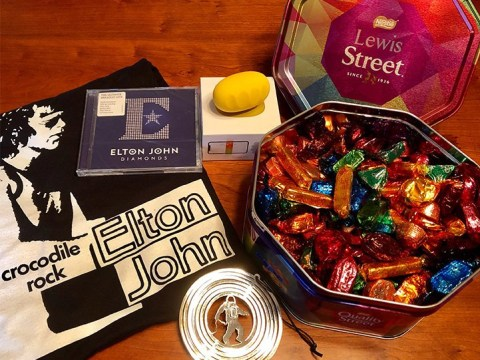 John Lewis the human gets lots of lovely gifts from John Lewis the store as a thank you for his patience every Christmas