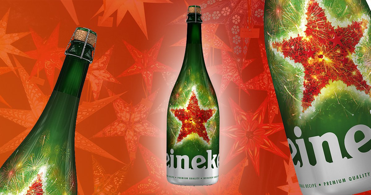 You can now buy a magnum of Heineken from Sainsbury's