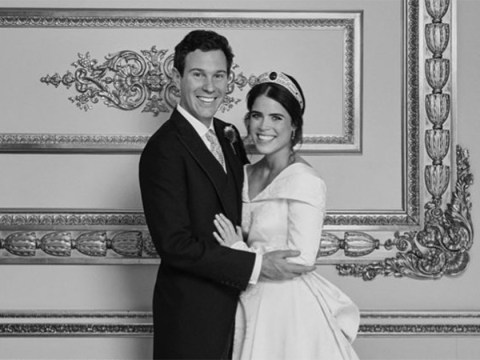 Princess Eugenie couldn't be happier as she shares stunning new photo from wedding