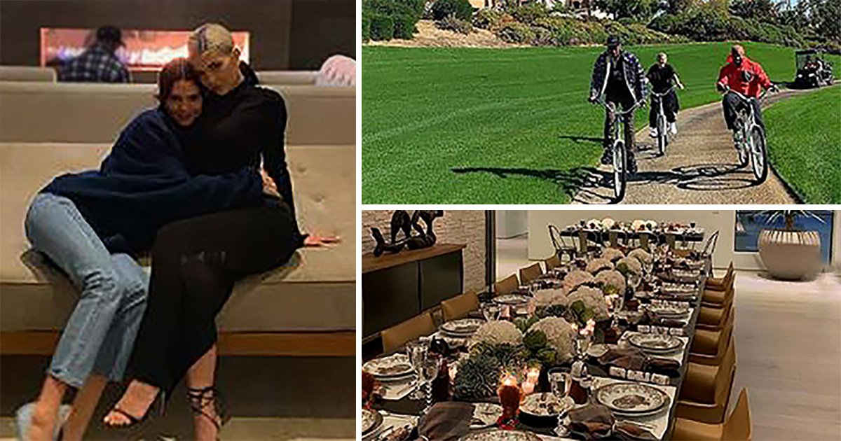 Kendall Jenner celebrates Thanksgiving with entire Kar-Jenner clan as she gives sneak peek at their day