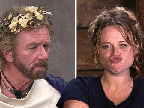 I'm A Celebrity's Emily Atack threatens to 's**t' on Noel Edmonds' bed after John Barrowman clash