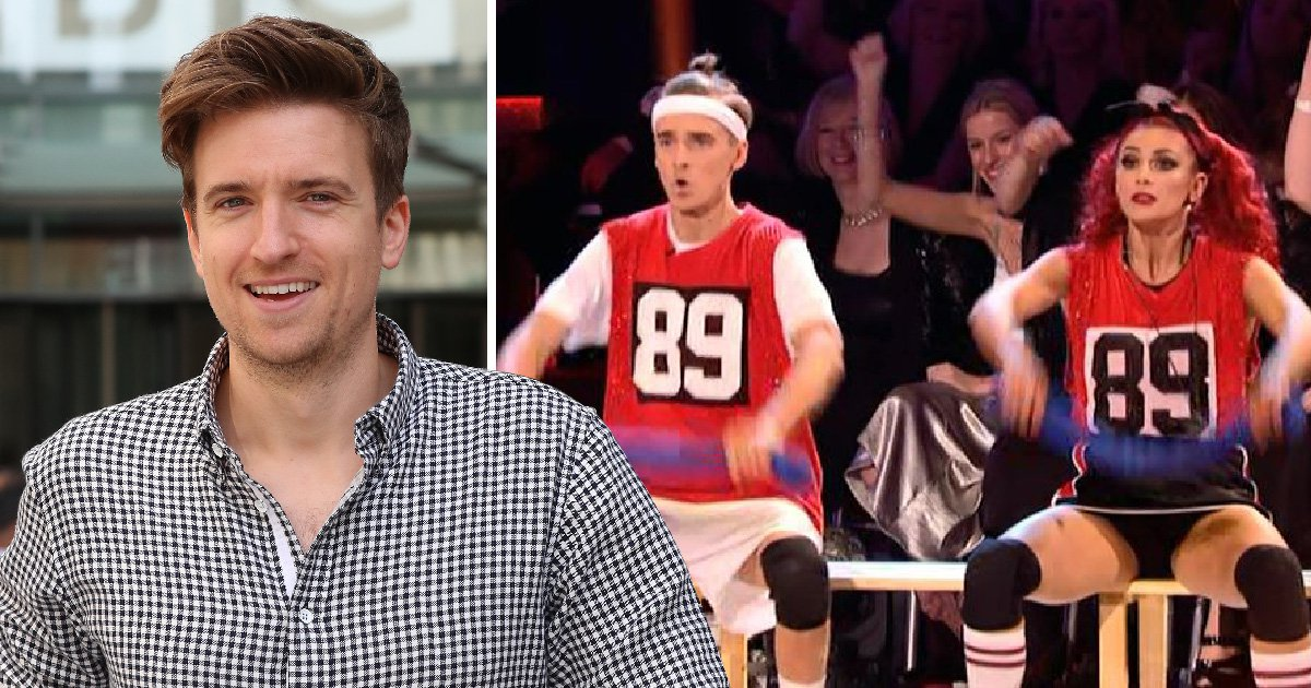 Strictly audience fist-pumps for Joe Sugg and Dianne Buswell – but it's all because of Greg James