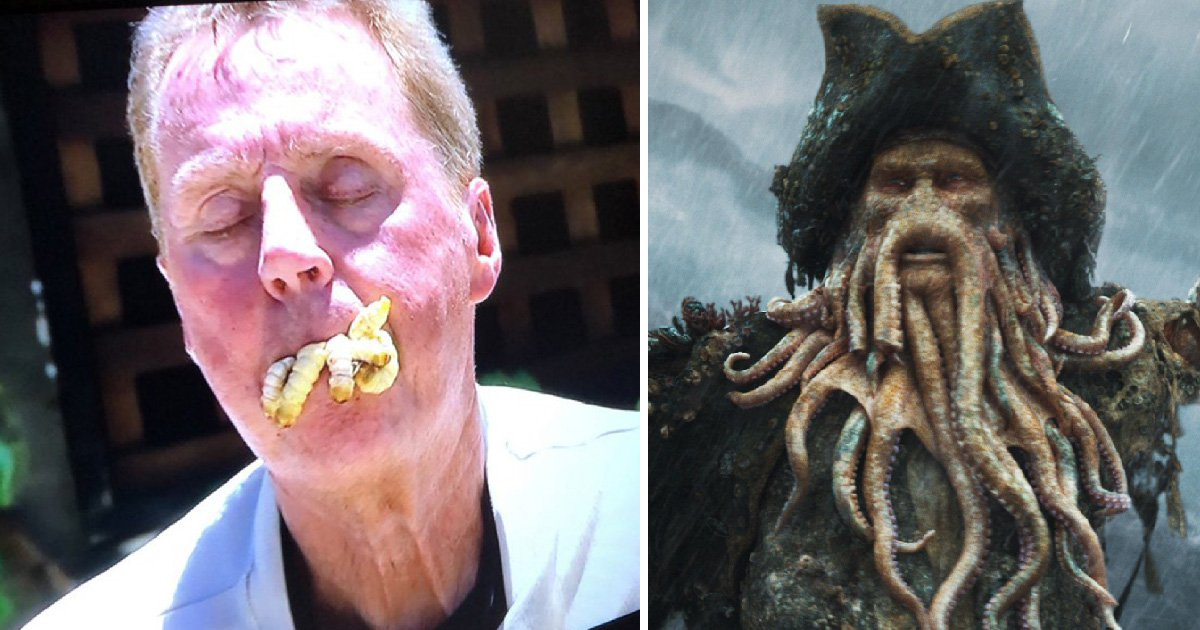 I'm A Celebrity's Harry Redknapp becomes your worst nightmare as he inhales bugs for Bushtucker trial