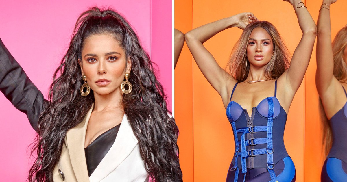 Cheryl and Alesha Dixon takes things up a notch for Greatest Dancer promotional shots