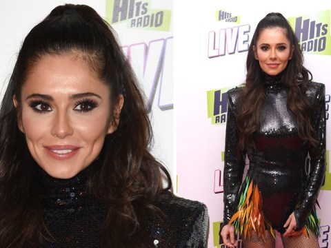 Cheryl receives support from Liam Payne's family as she arrives for first arena show since comeback