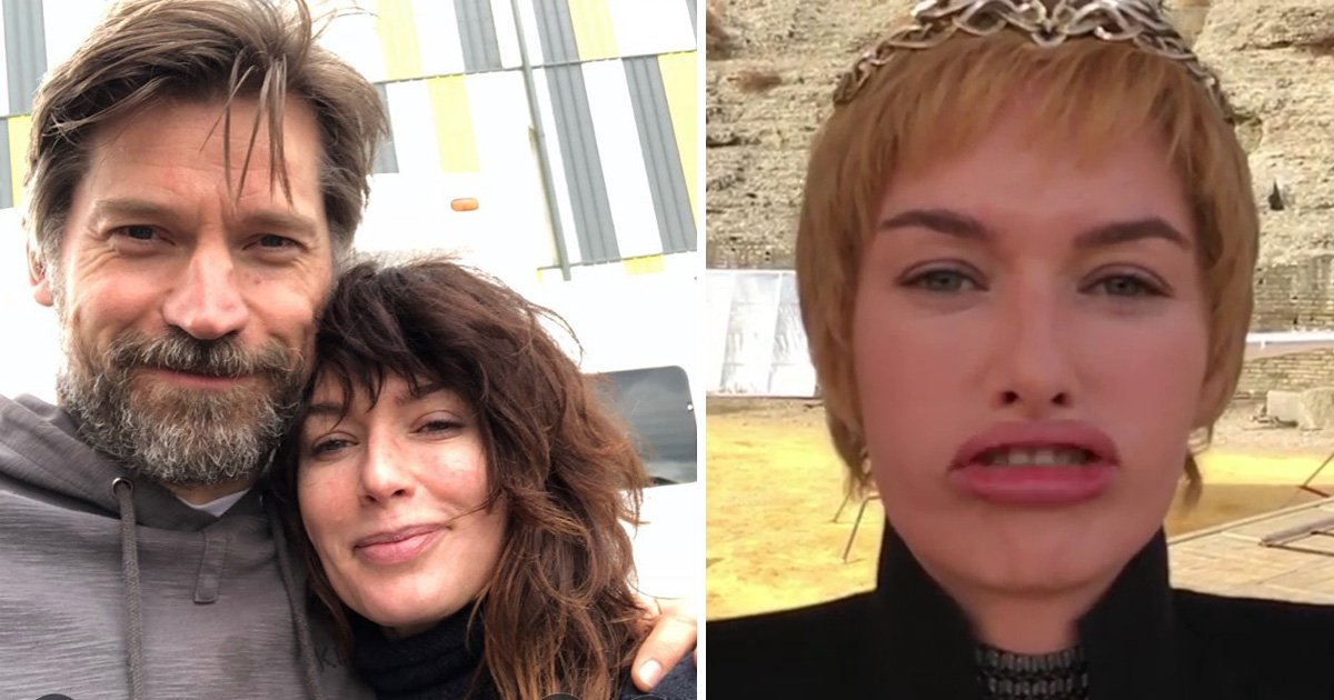 Game Of Thrones' Lena Headey isn't ready to let go of Cersei as she shares BTS hangs with Nikolaj Coster-Waldau