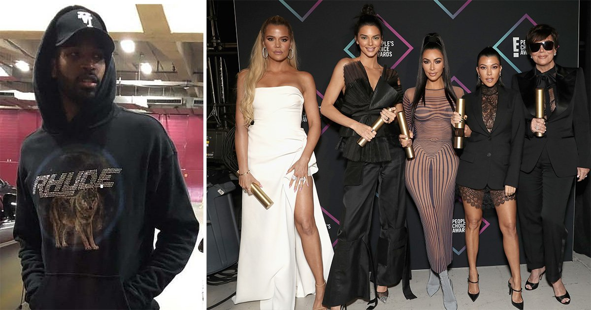 Khloe Kardashian's family are 'trying to be civil' to Tristan Thompson after cheating scandal