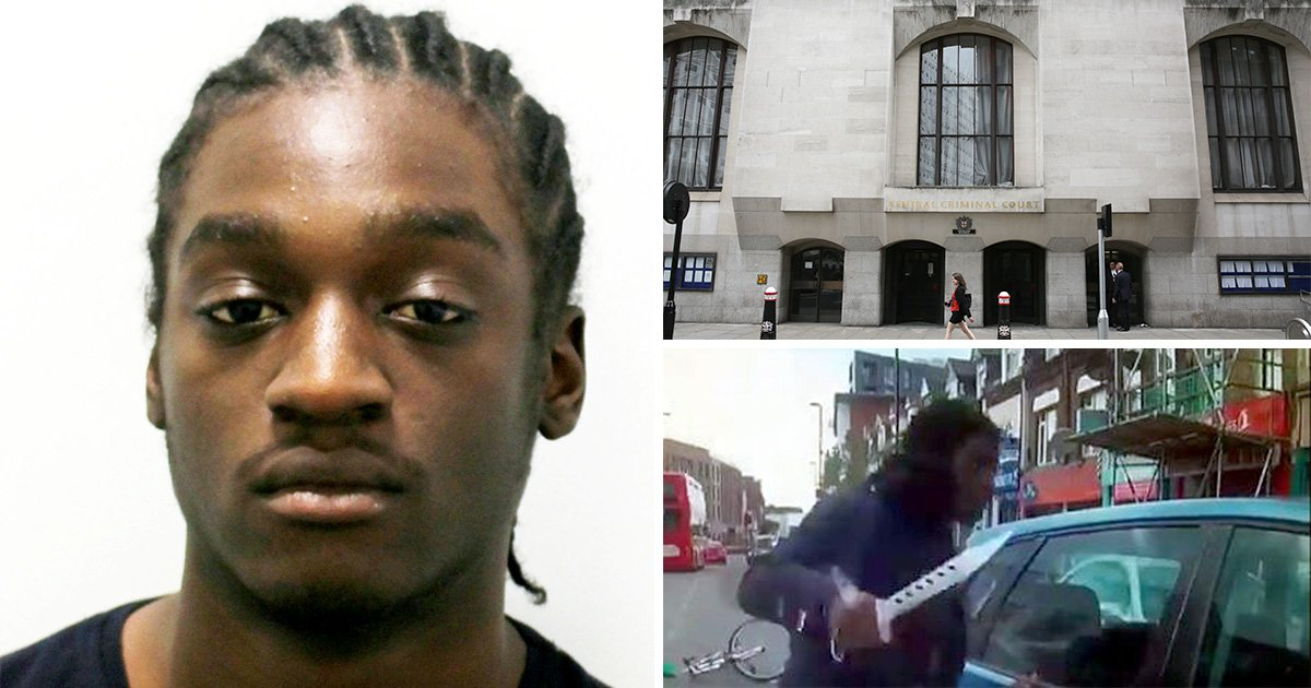 Teenager who attacked car with zombie knife spared jail because he was kidnapped