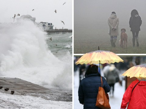 Storm Diana smashes into UK with 70mph winds and heavy rain