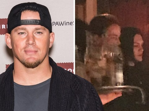Jessie J supports boyfriend Channing Tatum at Magic Mike Live as she watches strip show from private box