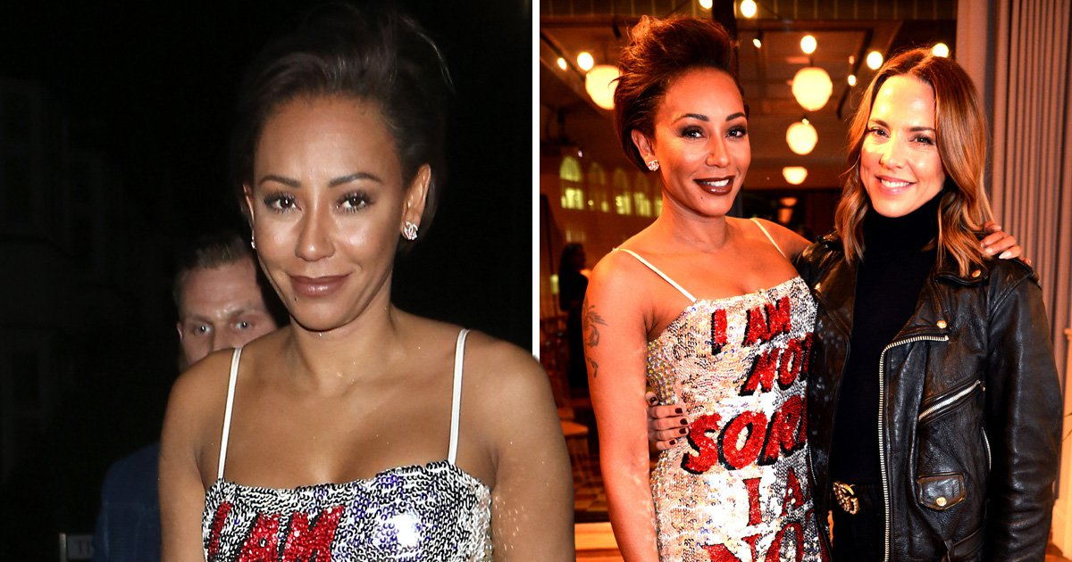Mel B insists she's 'not sorry' in statement dress at Brutally Honest book launch amid Stephen Belafonte abuse claims