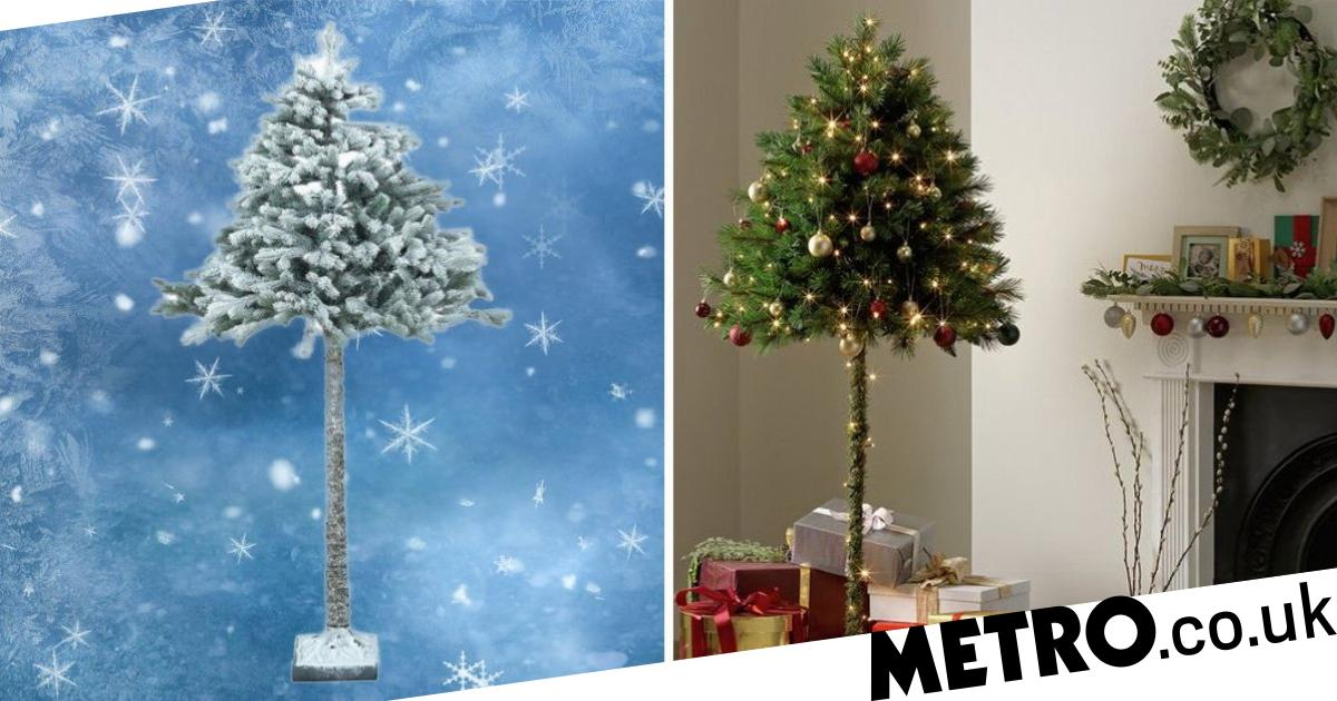 Argos Launches Parasol Christmas Trees That Your Cat Can't