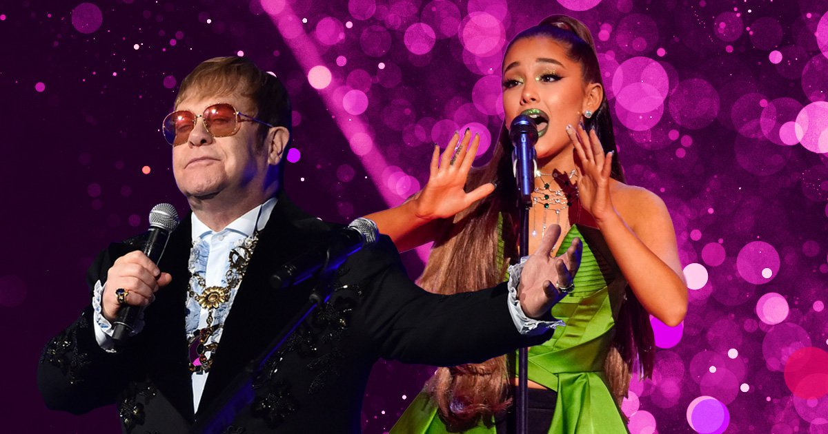 When is the Christmas number 1 announced and will it be Ariana Grande or Elton John?