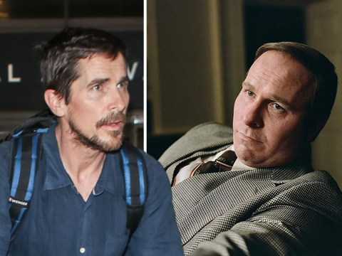 Christian Bale morphs back to old self as he appears to have lost the 40 pounds gained for Dick Cheney role