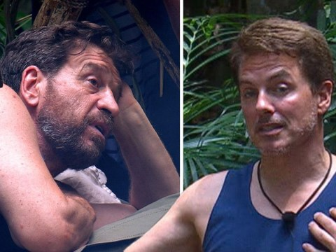 I'm a Celebrity's Nick Knowles and John Barrowman clash over touching campmate's knickers