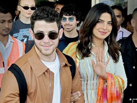 Priyanka Chopra and Nick Jonas look loved-up as they land in Jodhpur ahead of lavish wedding