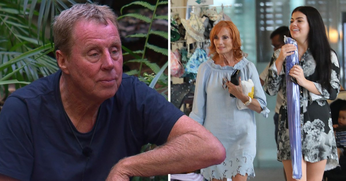 Harry Redknapp's wife Sandra engages in retail therapy as she lands in Australia to support husband on I'm A Celebrity