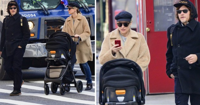 46df6fc978 Diane Kruger and Norman Reedus spotted for the first time with baby ...