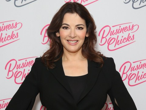 Nigella Lawson uses washing up gloves to exfoliate – because why not?