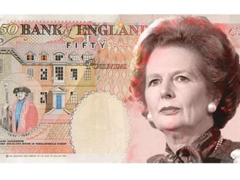 Margaret Thatcher could be face of £50 note for inventing soft-scoop ice cream