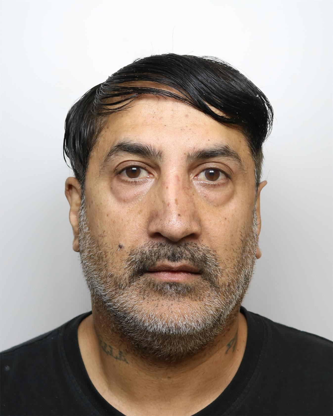 "Niaz Ahmed is shown in a police mugshot, in connection with a large scale rape and sexual abuse trial which sees 16 asian men from the Kirklees area jailed for a total of 221 years, at Leeds Crown Court, West Yorks., October 19 2018. See SWNS story SWLEabuse: A 16-strong gang of Asian men have been jailed for 221 years for drugging and sexually abusing vulnerable girls as young as eleven years old. The perverted group of men sexually abused the young victims, including two who had learning difficulties, between 2004 and 2011. The ""cynical"" exploitation of the girls - between just 11 and 17 years old - included plying them with alcohol and drugging them before carrying out horrific sexual assaults."