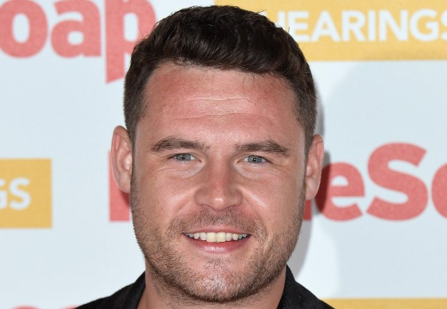 Danny Miller at the Inside Soap Awards in 2018