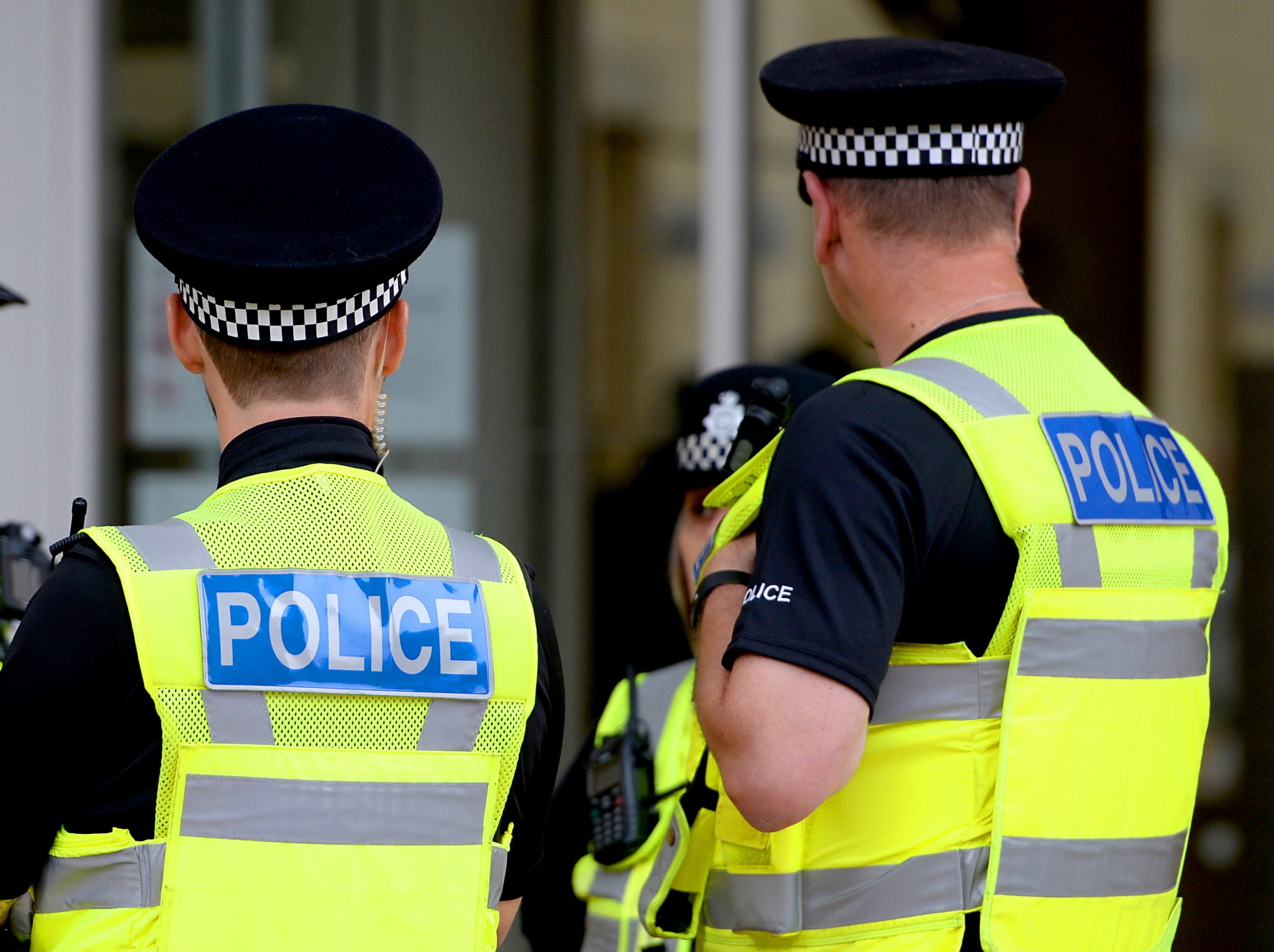 """Embargoed to 0001 Thursday October 25 File photo dated 15/09/16 of police officers. Policing is at risk of becoming """"irrelevant"""" as neighbourhood presences are stripped back and vast numbers of crimes go unsolved, a major new report warns. PRESS ASSOCIATION Photo. Issue date: Thursday October 25, 2018. See PA story POLITICS Police. Photo credit should read: Joe Giddens/PA Wire"""