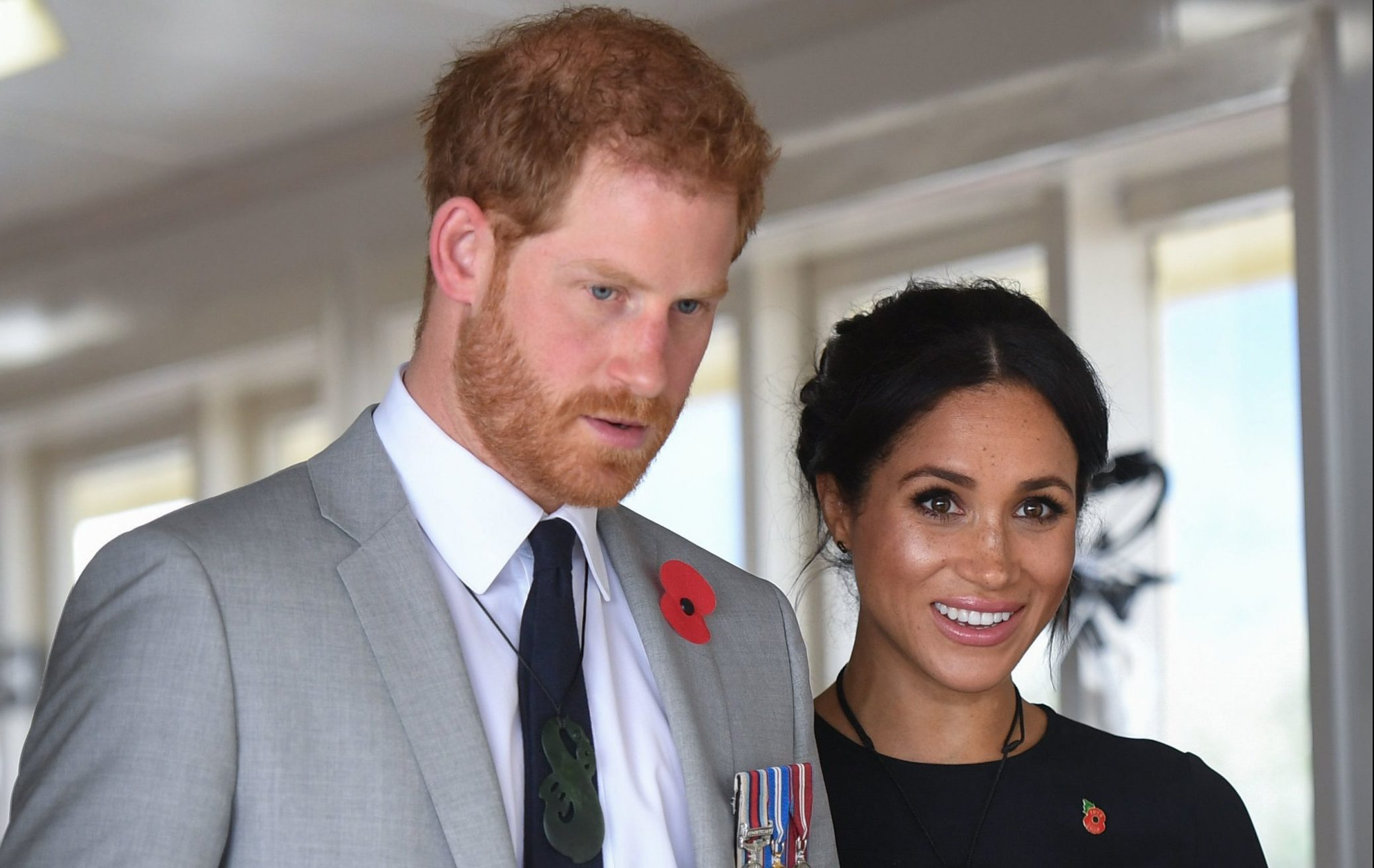 The Duchess of Sussex tour kitchens during a visit to Te Papaiouru, Ohinemutu, in Rotorua, before a lunch in honour of Harry and Meghan, on day four of the royal couple's tour of New Zealand. PRESS ASSOCIATION Photo. Picture date: Wednesday October 31, 2018. See PA story ROYAL Tour. Photo credit should read: Paul Edwards/The Sun/PA Wire