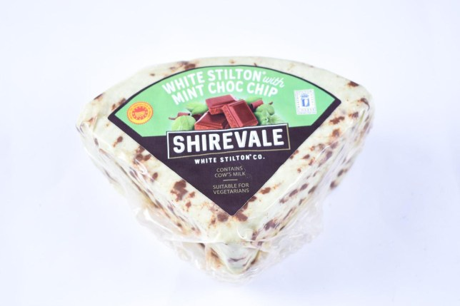 Online supermarket Ocado has revealed they are releasing a mint chocolate chip cheese later this year, just in time for Christmas. The Shirevale White Stilton Mint Choc Chip will retail at ?4.99 for a block and will be released mid-November.