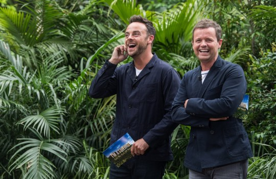 Editorial use only Mandatory Credit: Photo by James Gourley/ITV/REX/Shutterstock (9268972ao) Bushtucker Trial: Bushtucker Bonanza - Anthony McPartlin and Declan Donnelly 'I'm a Celebrity... Get Me Out of Here!' TV Show, Series 17, Australia - 10 Dec 2017