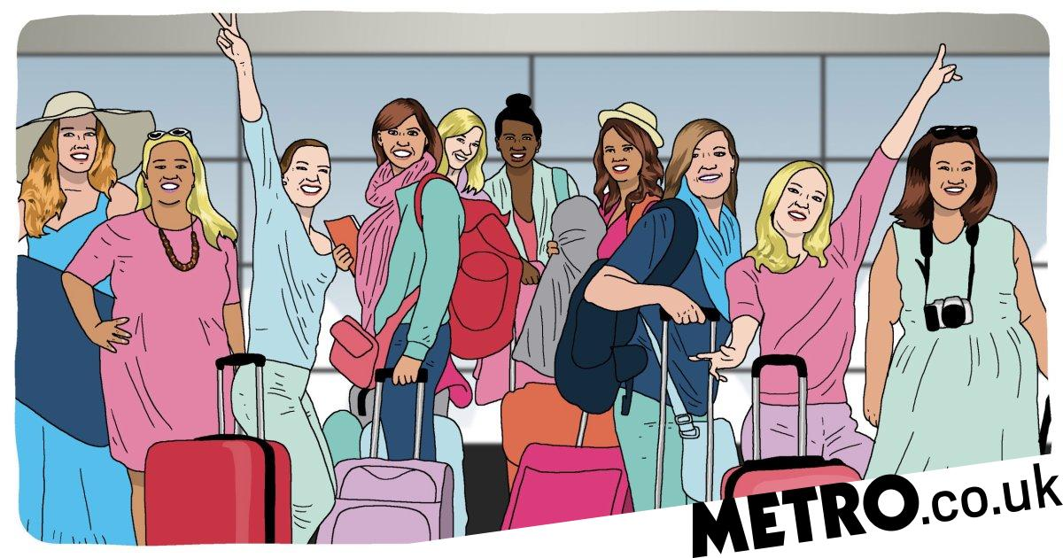 Not flying abroad for a hen do is 'as good for the environment as going vegan'