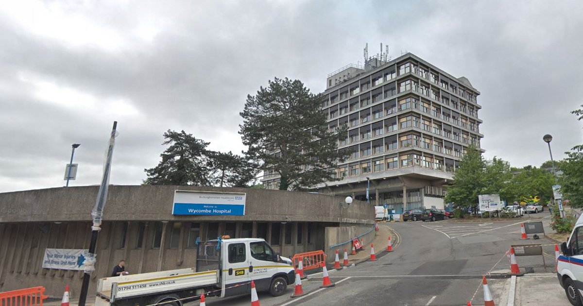 Man has acid thrown in face after opening door to Halloween trick-or-treater dressed as ghost Wycombe General Hospital Google