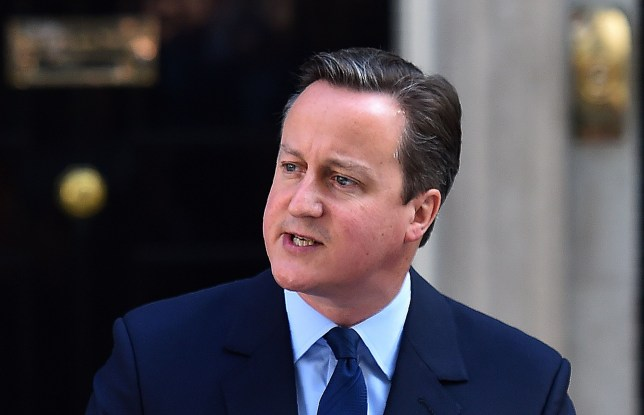 British Prime Minister David Cameron speaks to the press in front of 10 Downing street in central London on June 24, 2016. Prime Minister David Cameron announced Friday he will resign after Britons voted to leave the EU in defiance of his warnings of economic pain. / AFP / BEN STANSALL (Photo credit should read BEN STANSALL/AFP/Getty Images)