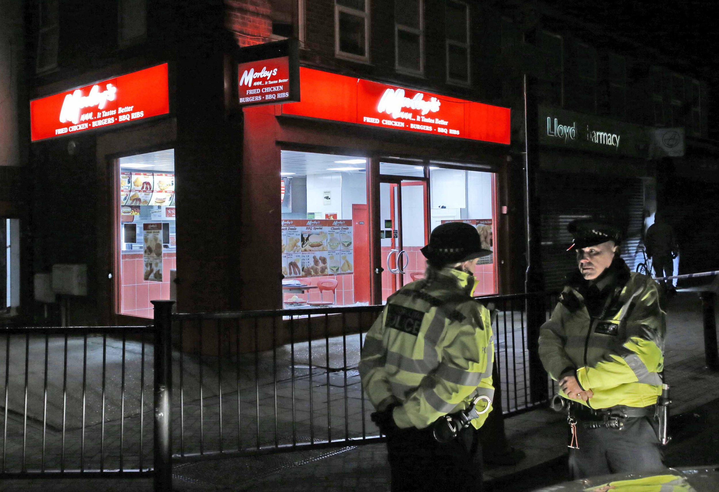 A teenage boy has been stabbed to death in south-east London.A teenage boy has been stabbed to death in south-east London. The victim, 15, was rushed to hospital after being found with knife wounds in Bellingham, Lewisham on Thursday night. Despite efforts to save him the boy was pronounced dead shortly after 8.10pm. His next of kin are aware. Police and paramedics were scrambled to the scene in Randlesdown road at about 5.20pm. ? Nigel Howard / Evening Standard / eyevine Contact eyevine for more information about using this image: T: +44 (0) 20 8709 8709 E: info@eyevine.com http://www.eyevine.com