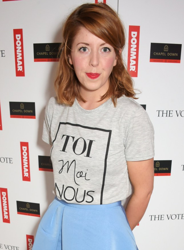 """LONDON, ENGLAND - MAY 07: Rebecca Humphries attends a special screening of The Donmar Warehouse production of """"The Vote"""" at the Ham Yard Hotel, generously supported by Chapel Down, on May 7, 2015 in London, England. (Photo by David M. Benett/Getty Images for Donmar Warehouse)"""