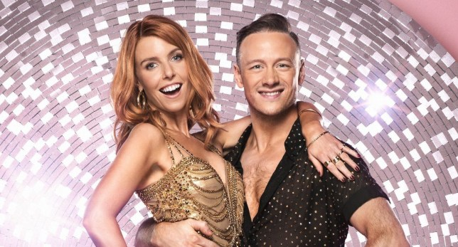 Stacey Dooley, Kevin Clifton - (C) BBC - Photographer: Ray Burmiston