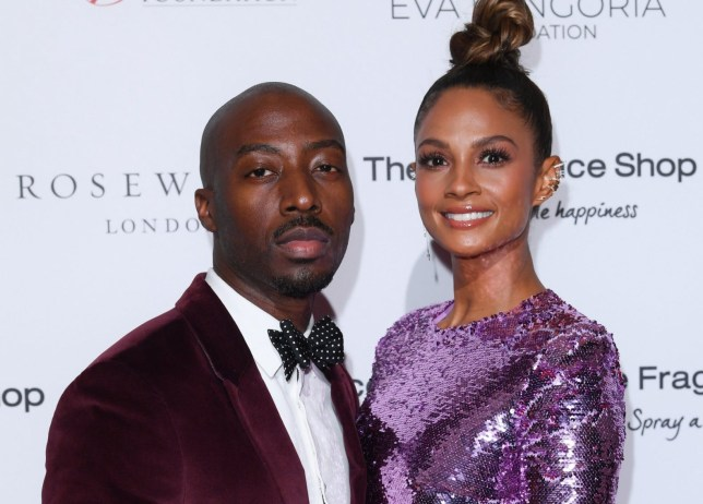 alesha dixon and her husband Azuka Ononye