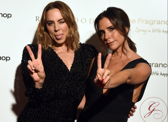 2nd November 2018 The Global Gift Gala London 2018 held at Rosewood London, 252 High Holborn, London. Here: Victoria Beckham & Mel C Credit: Justin Goff/Goffphotos.com