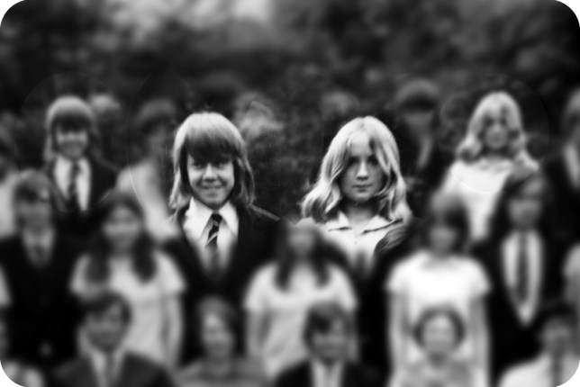 Carol and Mike back in 1972 (PA Real Life/Box Hill School)
