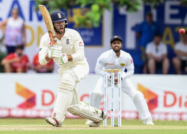 England's Ben Foakes plays a shot during the first day of the opening Test match between Sri Lanka and England at the Galle International Cricket Stadium in Galle on November 6, 2018. (Photo by ISHARA S. KODIKARA / AFP)ISHARA S. KODIKARA/AFP/Getty Images