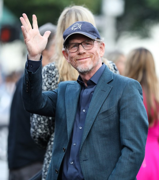 Mandatory Credit: Photo by Chelsea Lauren/REX/Shutterstock (9770242ct) Ron Howard 'The Spy Who Dumped Me' film premiere, Arrivals, Los Angeles, USA - 25 Jul 2018