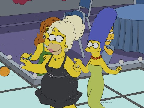Homer Simpson transforms into fabulous drag queen in special RuPaul episode