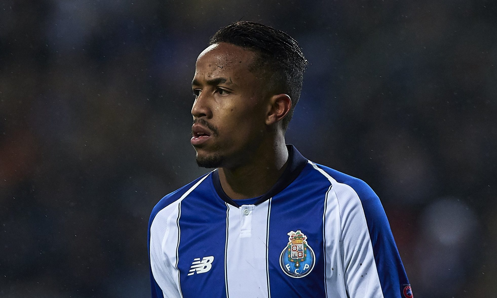 PORTO, PORTUGAL - NOVEMBER 06: Eder Militao of FC Porto looks on during the Group D match of the UEFA Champions League between FC Porto and FC Lokomotiv Moscow at Estadio do Dragao on November 6, 2018 in Porto, Portugal. (Photo by Quality Sport Images/Getty Images)
